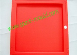 Red iPad Silicone Case Mold, Custom Silicone Rubber Mold
