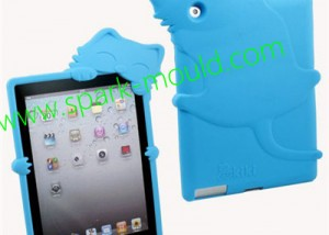 Custom Silicone Rubber Mold, iPad Silicone Cat Case Mold