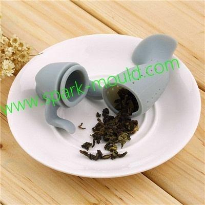 silicone rubber fish for drinking tea