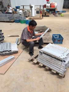 manufacture mold strictly