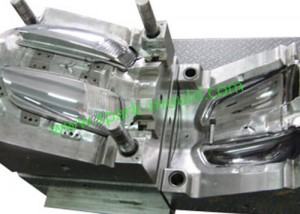 Auto lamp injection mold, China Custom Plastic Mold Making