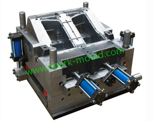 Auto lamp injection tooling