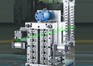 Automatic Motor Oil Cylinder Plastic Tooling Mold