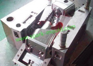 Angle Slider Mold, Plastic Tooling Mold