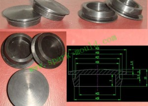 Lathe Part Mold Machining, Metal Mold