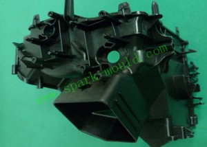 pa66+30%gf Injection Molding, Auto Part Bracket Molding