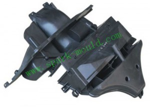 Automobile Plastic Molding Bracket, Auto Parts Injection Molding