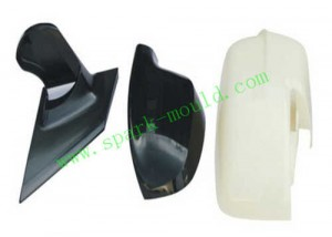Auto Retroreflector Cover Molding, Automobile Plastic Injection Molding