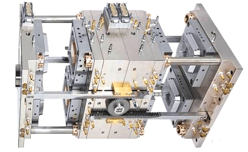 Stacked injection mold