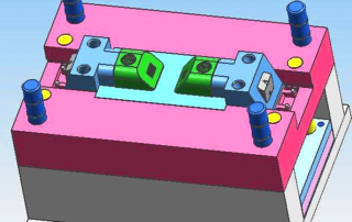 Large-scale injection mold design experience