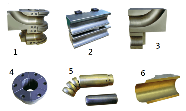 Cold bending tube mold composition