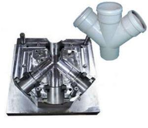 three-way PVC pipe fittings